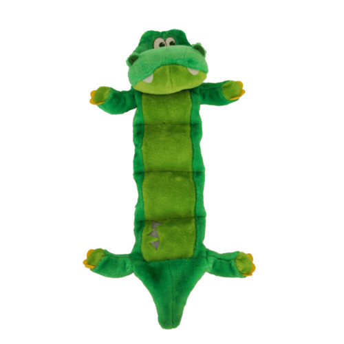Outward Hound Invincibles Squeaker Palz Gator Dog Toy