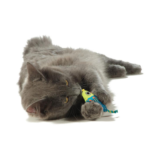 Petstages Catnip Mice Chew Cat Toy