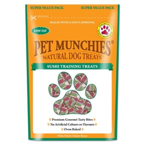 Pet Munchies Dog Training Treats 150g - Sushi
