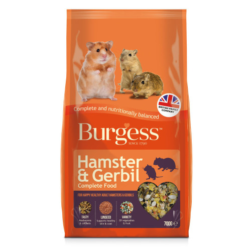 Burgess Complete Hamster & Gerbil Food