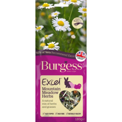 Burgess Excel Mountain Herbs Snacks