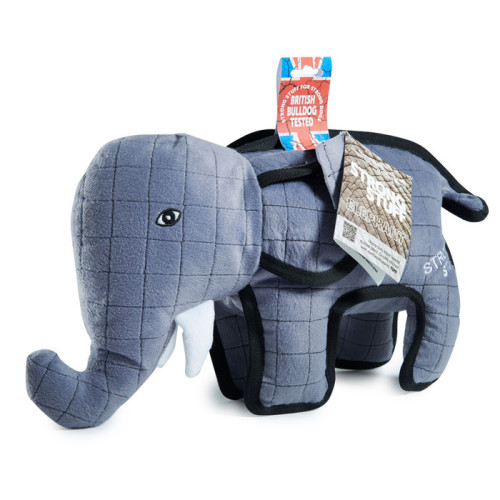 Sharples Pet Tuff Elephant Dog Toy