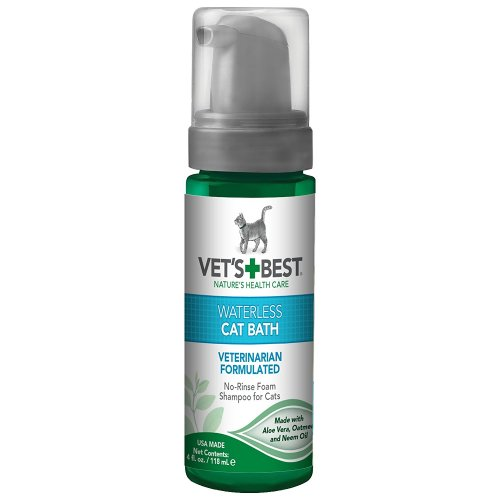 Vets Best Waterless Cat Bath Shampoo