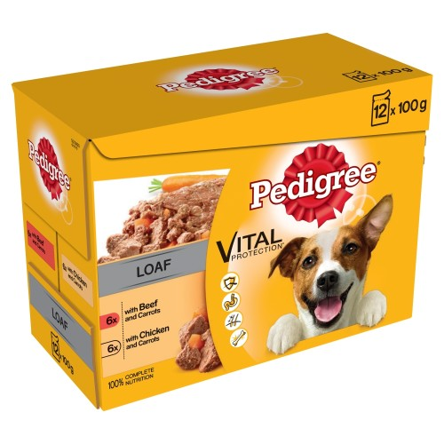 Pedigree Mixed Selection in Loaf Wet Adult Dog Food