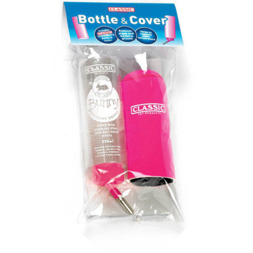 Classic Crystal Deluxe Small Pet Bottle and Cover