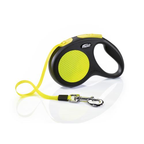 Flexi New Neon 5m Tape Dog Lead