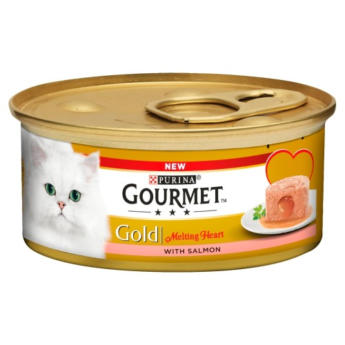 Gourmet Gold Melting Heart Salmon Adult Cat Food
