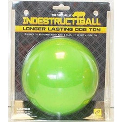 Happy Pet Indestructiball Dog Toy Green - Large