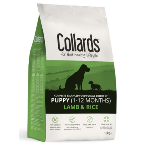 Collards Lamb & Rice Puppy Food