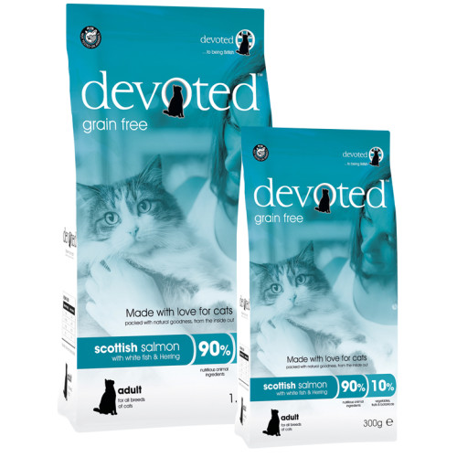 Devoted Scottish Salmon Adult Cat Food