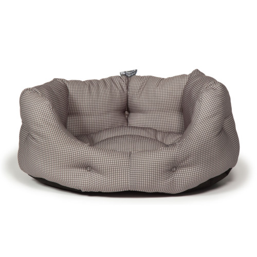 Danish Design Vintage Dogstooth Deluxe Slumber Dog Bed 30