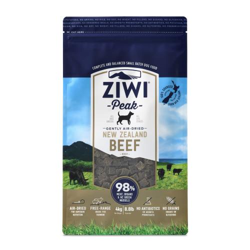 ZiwiPeak New Zealand Beef Dry Dog Food 4kg