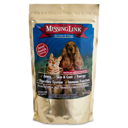 The Missing Link Wellbeing Joint Formula Cat & Dog Supplement