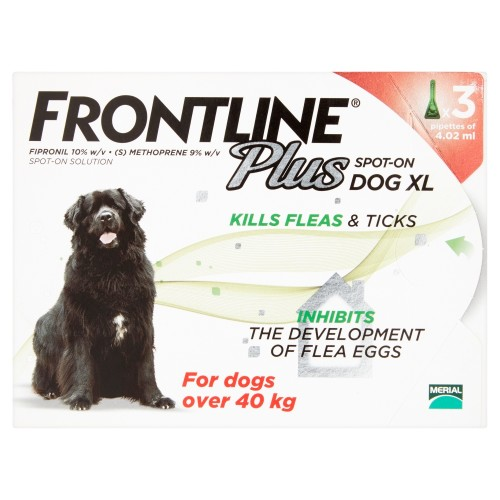 Frontline Plus Flea & Tick Spot On Dog