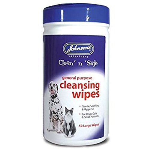 Johnsons Clean & Safe Pet Cleansing Wipes