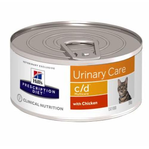 Hills Prescription Diet Feline CD Multicare Canned Chicken 156g x 48