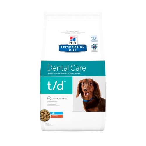 Hills Prescription Diet Canine TD Mini 3kg x 2