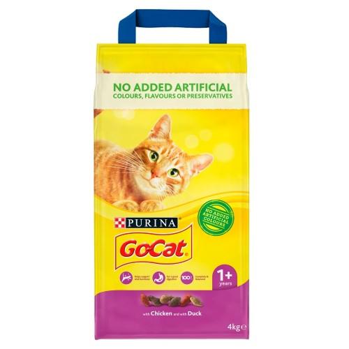 Go-Cat Chicken & Duck Adult Cat Food 4kg