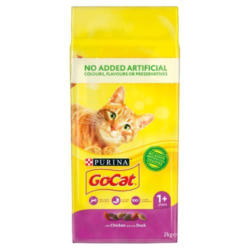 Go-Cat Chicken & Duck Adult Cat Food 2kg