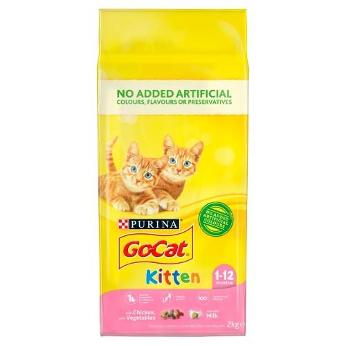 Go-Cat Chicken Milk & Vegetable Kitten Food