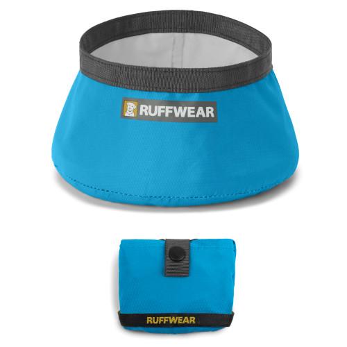 Ruffwear Trail Runner Blue Dusk Travel Dog Bowl