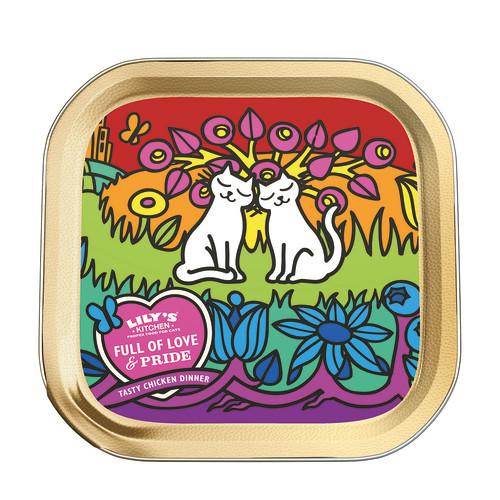 Lilys Kitchen Full of Love & Pride Chicken Wet Cat Food