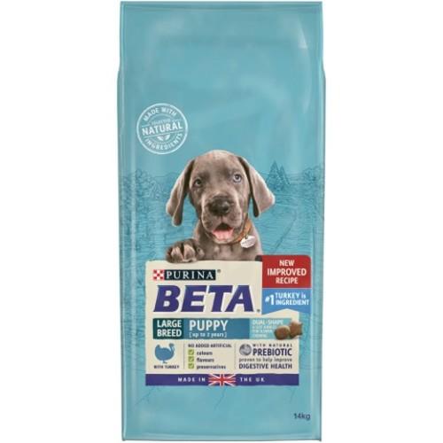 BETA Turkey Large Breed Puppy Food