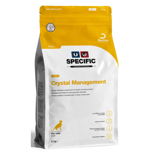 SPECIFIC FCD-L Crystal Management Light Adult Cat Food