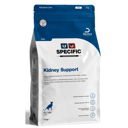 SPECIFIC FKD Kidney Support Cat Food 400g