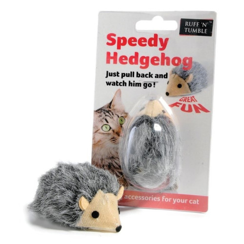 Sharples Pet Speedy Hedgehog Cat Toy