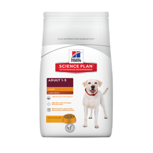 Hills Science Plan Large Breed Chicken Adult Light Dry Dog Food