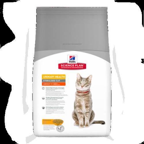 Hills Science Plan Feline Adult Urinary Sterilised Chicken 3kg
