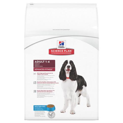 Hills Science Plan Canine Adult Advanced Fitness Medium Tuna