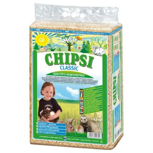 Chipsi Classic Wood Shavings for Small Pets 60 Litres