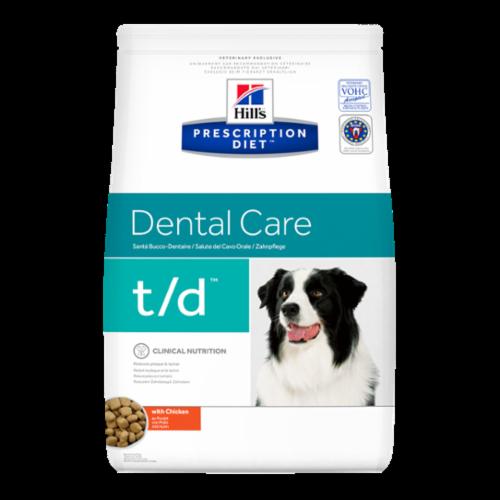 Hills Prescription Diet TD Dental Care Chicken Dry Dog Food 10kg