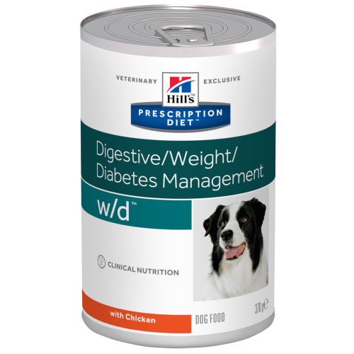 Hills Prescription Diet Canine WD Canned 370g x 24
