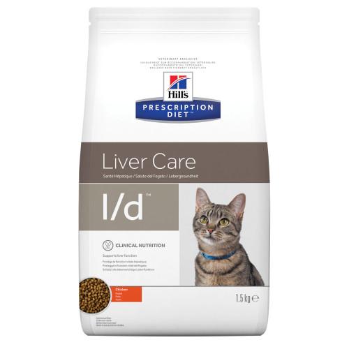 Hills Prescription Diet Hepatic Health Diet Feline LD