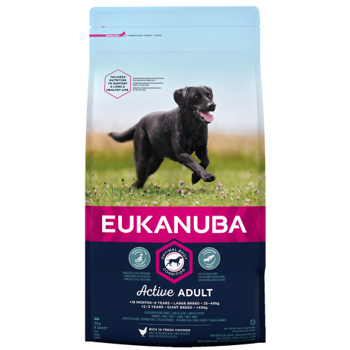 Eukanuba Active Adult Chicken Large Breed Adult Dog Food