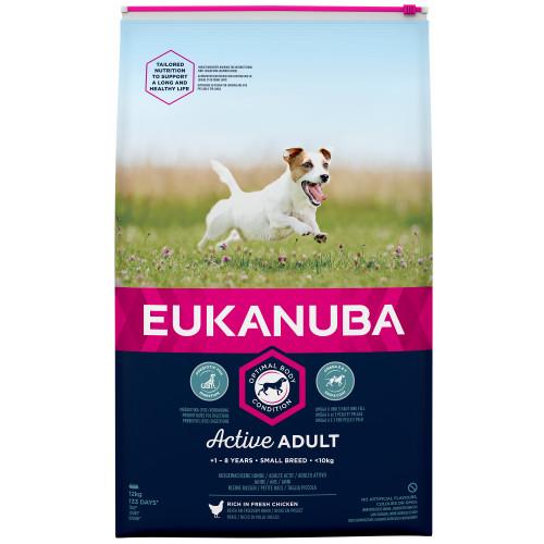 Eukanuba Active Adult Chicken Small Breed Adult Dog Food