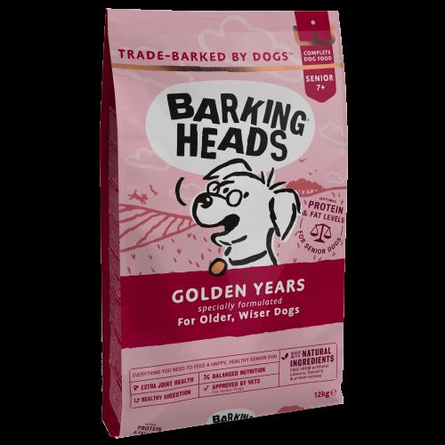 Barking Heads Golden Years Dry Senior Dog Food 12kg x 2