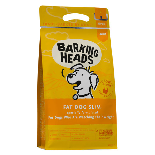 Barking Heads Fat Dog Slim Adult Dog Food