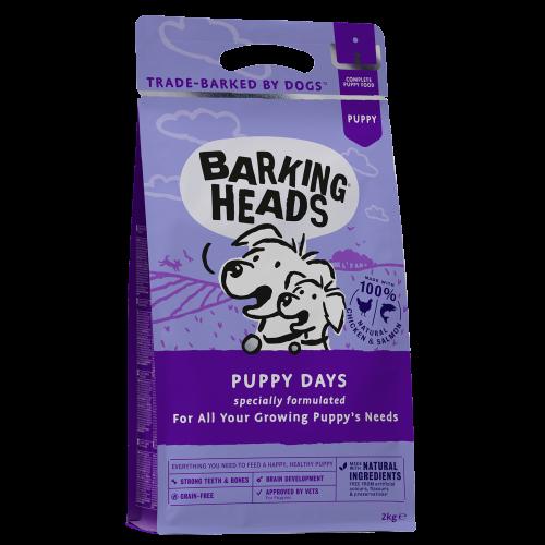 Barking Heads Puppy Days Grain Free Dog Food 2kg