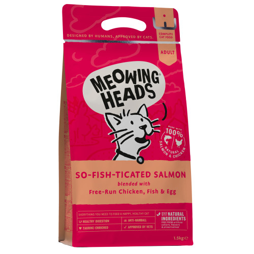 Meowing Heads Cat Food Kg