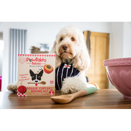 Paw Bakes Cupcake Baking Kit Dog Treat