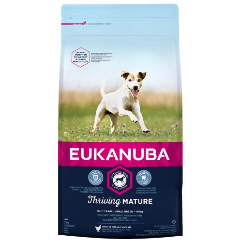 Eukanuba Thriving Mature Chicken Small Breed Dog Food