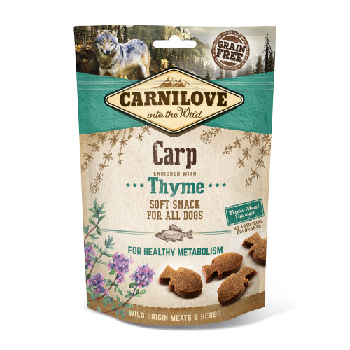 Carnilove Semi-moist Snack Carp with Thyme Dog Treat