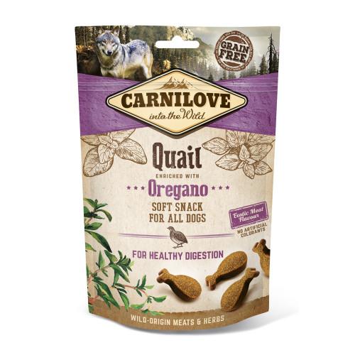 Carnilove Semi-moist Snack Quail with Oregano Dog Treat 200g