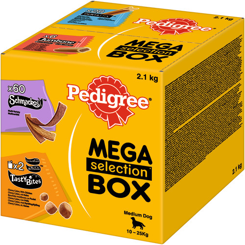Pedigree Mixed Variety Selection Box Medium Dog Treats