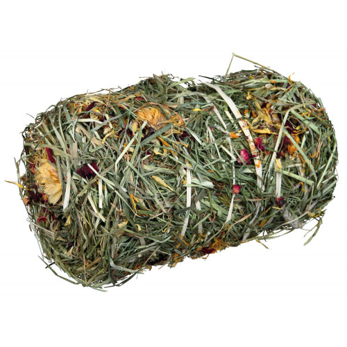 Trixie Flowermix Hay Bale for Small Pets