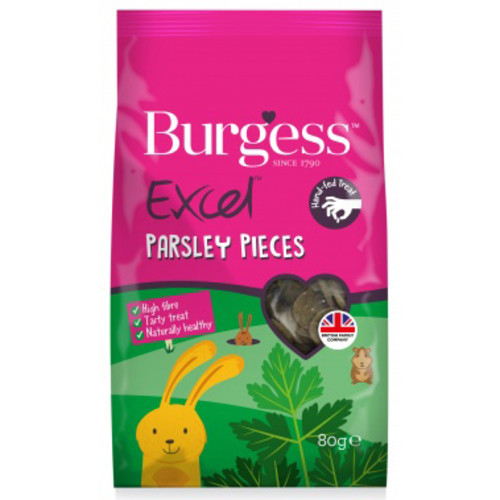 Burgess Excel Parsley Baked Small Pet Treats 80g